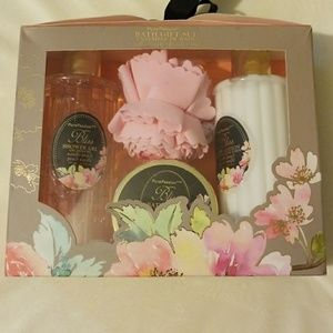 NEW Pure Passion Bath Set Vainilla Peach
